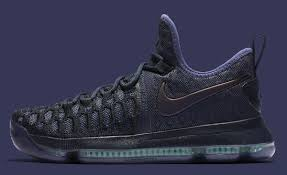 obsidian black color nike kd 9 obsidian dark purple dust black 843392 450 sole collector