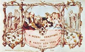 christmas postcards who sent the christmas card mental floss