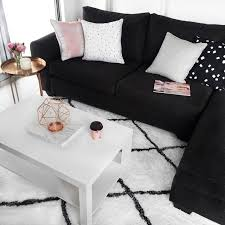 Best  Black Couch Decor Ideas On Pinterest Black Sofa Big - Black and white living room decor