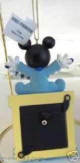 disney mickey mouse baby boy photo ornament new