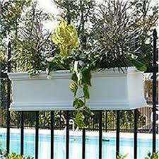 2x8 deck railing flower box hooks for hanging planters