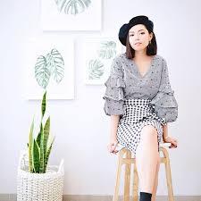 olivia lazuardy fashion blogger