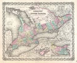 A Map Of Canada by 9 9 Manufacturing Railways And Industry Early Days Canadian