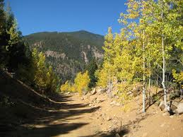 Colorado Springs Trail Map by Gold Camp Road