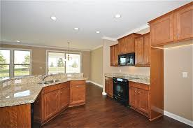 dark wood floor and cabinets extravagant home design