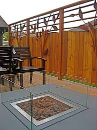 deck privacy fence pictures best fence for security 2017