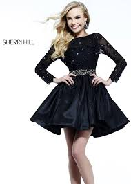 Black Cocktail Dresses With Sleeves Sleeve Cocktail Dresses For Prom