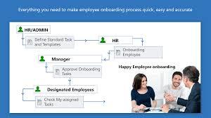 employee onboarding free u2013 microsoft appsource