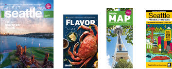 Seattle Tourist Map by Brochures Visit Seattle