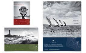 cpa u0026 tax accountant flyer u0026 ad template design