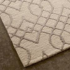 vintage trellis pattern rug shades of light