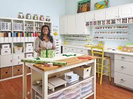 room organizer craft and sewing room storage and organization hgtv