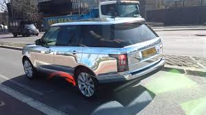 range rover rose gold chrome range rover youtube