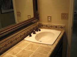 Bathroom Vanity Backsplash by Bathroom Sinks With Backsplash Crafts Home