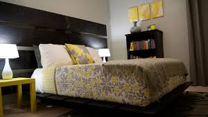 Yellow Room Grey Yellow Bedroom We Love This Yellow Gray Palette In This