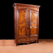 Armoire Ashley French Armoire In Walnut With Burled Panels C 1750 Bonnin