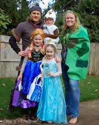 Family Of 3 Costumes For Halloween by Diary Of A Crafty Lady Happy Halloween From The Frozen Family 2014