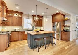 oak cabinets kitchen grey kitchen oak cabinets and white island with drop