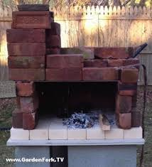 Build Brick Oven Backyard by Diy Wood Fired Pizza Oven Plans And Video Learn How To Build A