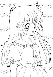 free coloring pages anime happy 643 bestofcoloring