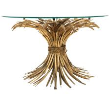 coco chanel wheat sheaf cocktail table at 1stdibs