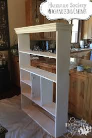 merchandising cabinet country design style