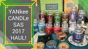 yankee candle sas haul semi annual sale 2017