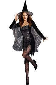 amour black magic witch women costume halloween