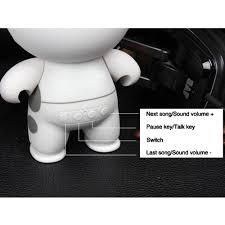 asdomo bluetooth speakers portable cute big white wireless