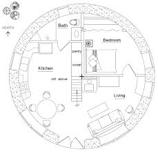 Blueprint For Houses by Roundhouse Plan Earthbag House Plans