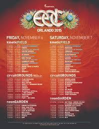 Orlando Map Store by Edc Orlando 2015 Set Times U0026 App Now Available Insomniac
