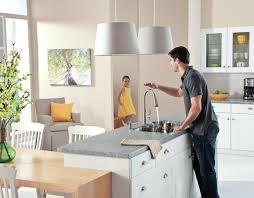 sensor faucets kitchen kohler touchless faucet sensate