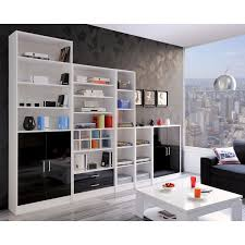 jamy white slim bookcase next day select day up to 50 off rrp