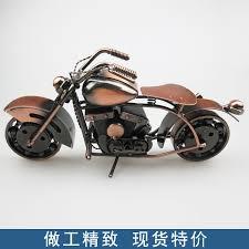shop motorcycle model large retro harley iron crafts