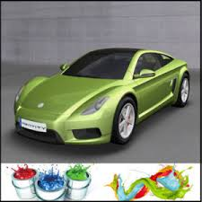 china top quanlity low price 2k green color car paint china car