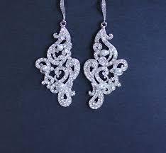 wedding earrings chandelier 18 best earrings images on curls ears and bridal earrings