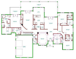 Modern Ranch Style House Plans Open Concept Floor Cost To Build Home Plans With Open Bat