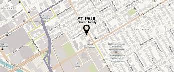 St Paul Campus Map St Paul Lutheran Church Worship