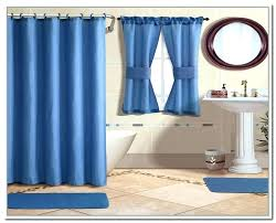 Matching Bathroom Shower And Window Curtains Bathroom Shower Curtain Sets Engem Me
