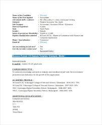 Tally Resume Sample by 21 Fresher Resume Templates Free U0026 Premium Templates