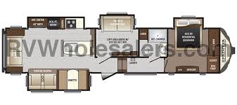 Sprinter 5th Wheel Floor Plans Keystone Rv Sprinter Fifth Wheel Floorplans The Real Rv Wholesalers