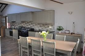 neptune kitchen furniture bespoke painted kitchen in neptune honed slate with granite