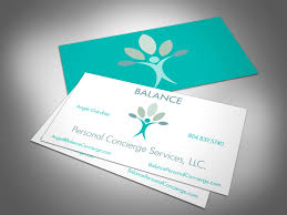 Business Card For Ceo This Is A Card For A New Start Up Business A Personal Concierge
