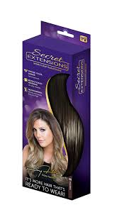 as seen on tv hair extensions secret extensions hair extensions by