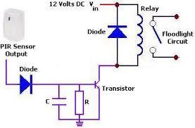 electronics forum u003e pir sensor timer circuit