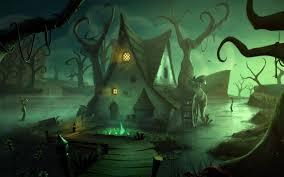 animated halloween background animated halloween house desktop