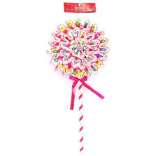 the shoppe pink polyfoam lollipop ornament shop hobby