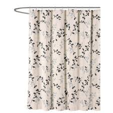 Threshold Medallion Shower Curtain by 13 Piece Waffle Shower Curtain With Fresco Medallions 13fmwscbp