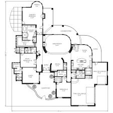 adobe southwestern style house plan 4 beds 4 50 baths 4025 sq