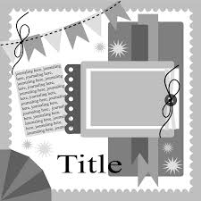 templates for scrapbooking scrapbook layout by snapshotsbygina scrapbook layouts